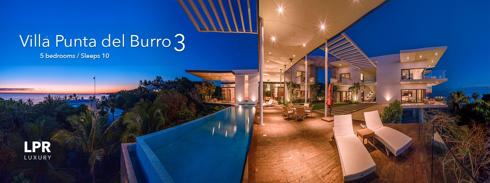 Villa Punta del Burro 3 - Punta de Mita luxury real estate - Puerto Vallarta, Mexico