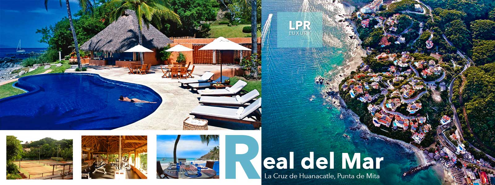 Real del Mar - Luxury resort real estate on the North shore of Puerto Vallarta, Mexico