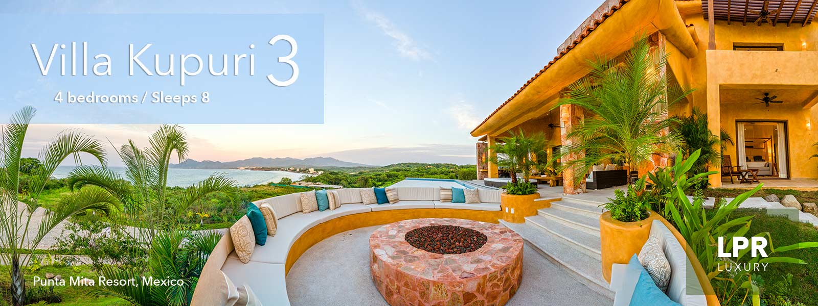 Villa Kupuri 3 - Luxury Real Estate at Kupuri inside the exclusive Punta Mita Resort