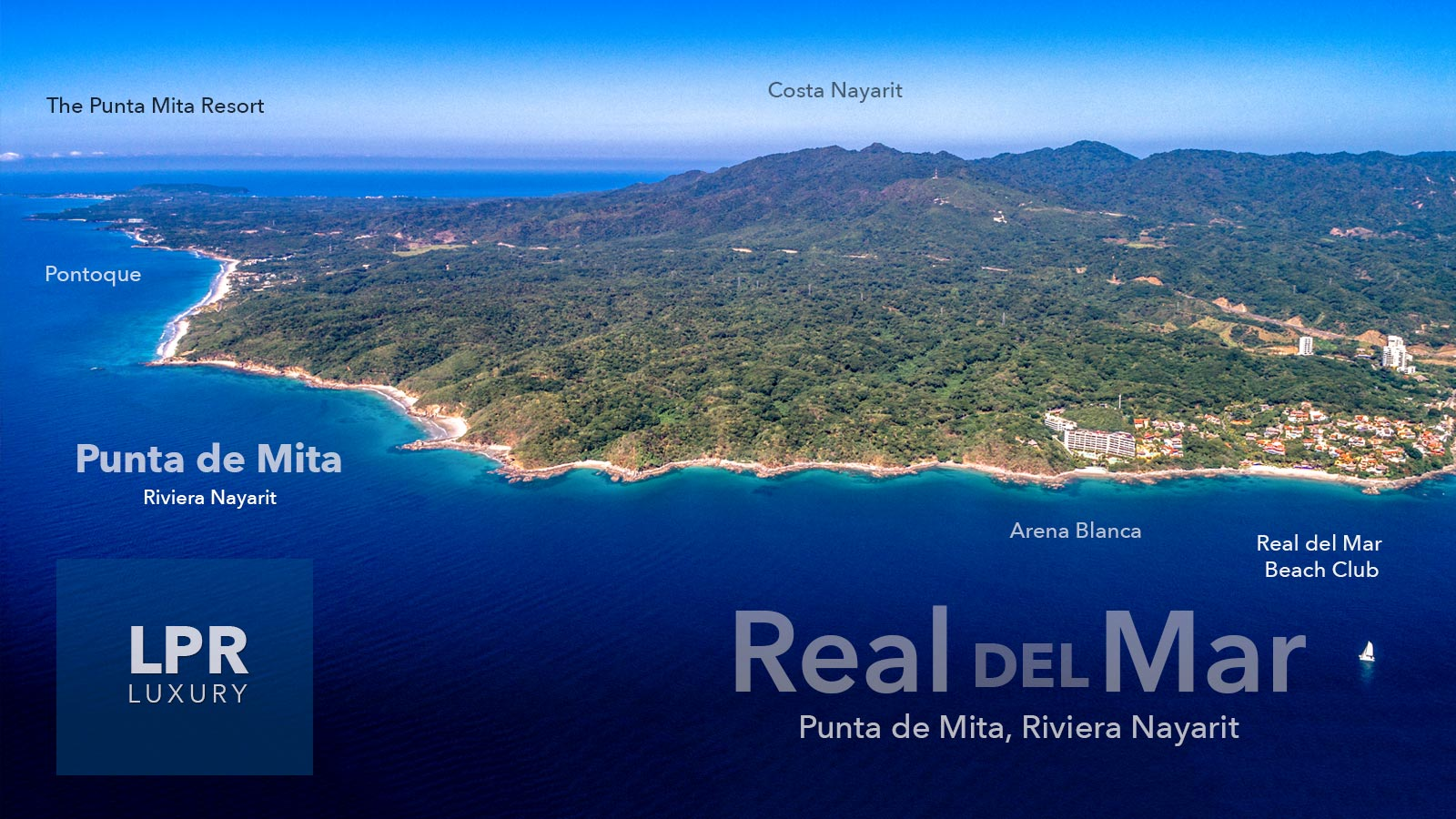 Real del Mar - North shore Puerto Vallarta luxury real estate and vacation rentals - Riviera Nayarit, Mexico