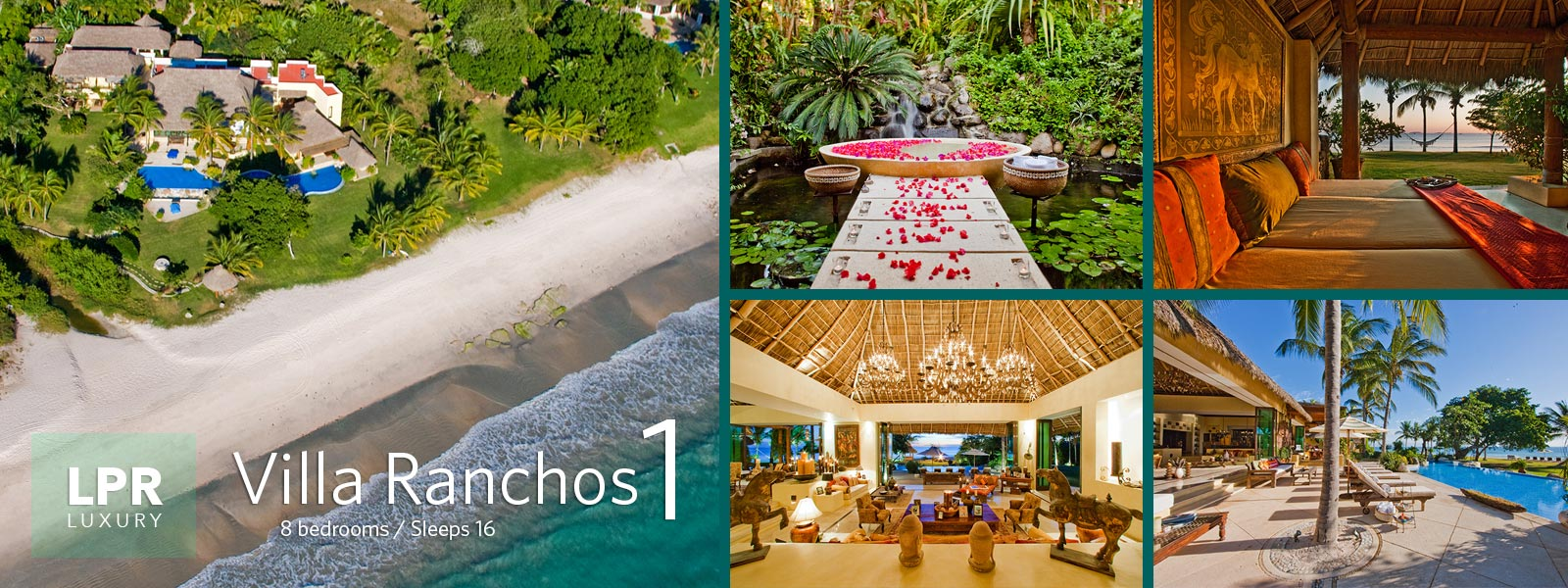 Villa Ranchos 1 - Ultra luxury villa for sale and rent at the Punta Mita Resort - Puerto Vallarta luxury real estate