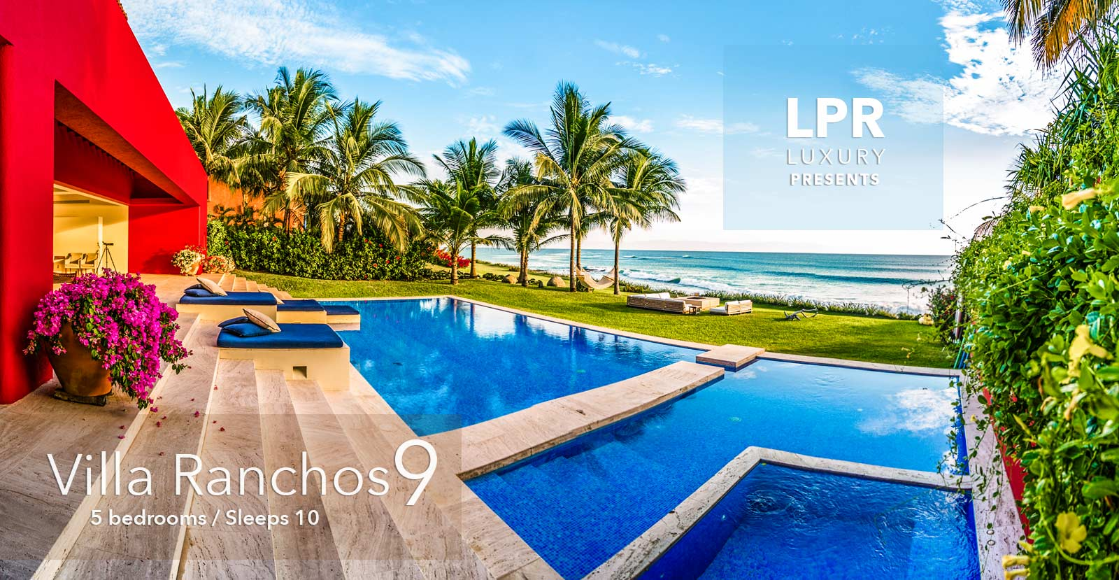 Villa Ranchos 9 - Ultra Luxury villa for sale at the Punta Mita Resort - Puerto Vallarta luxury real estate - Mexico