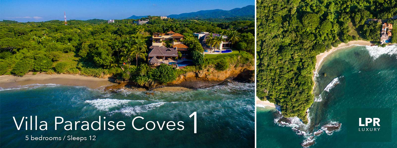 Villa Paradise Coves 1 - Luxury North shore Puerto Vallarta restate and vacation rentals