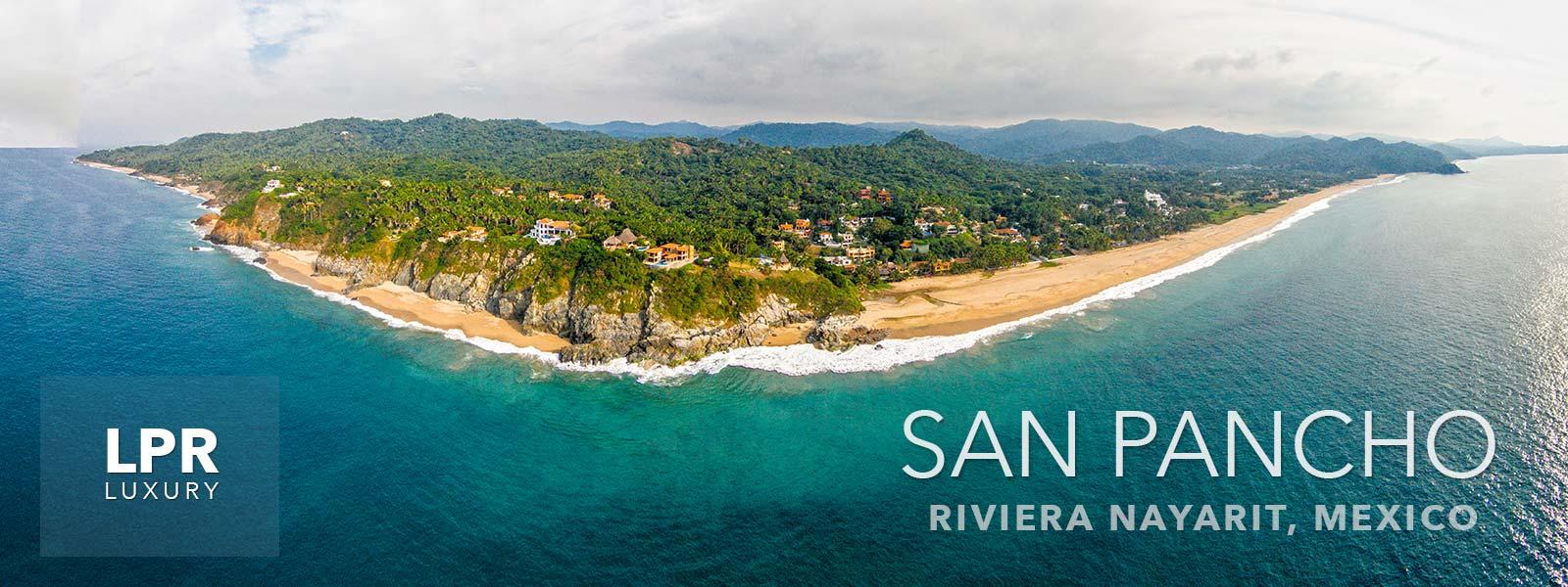 San Pancho beach, Riviera Nayarit, Mexico