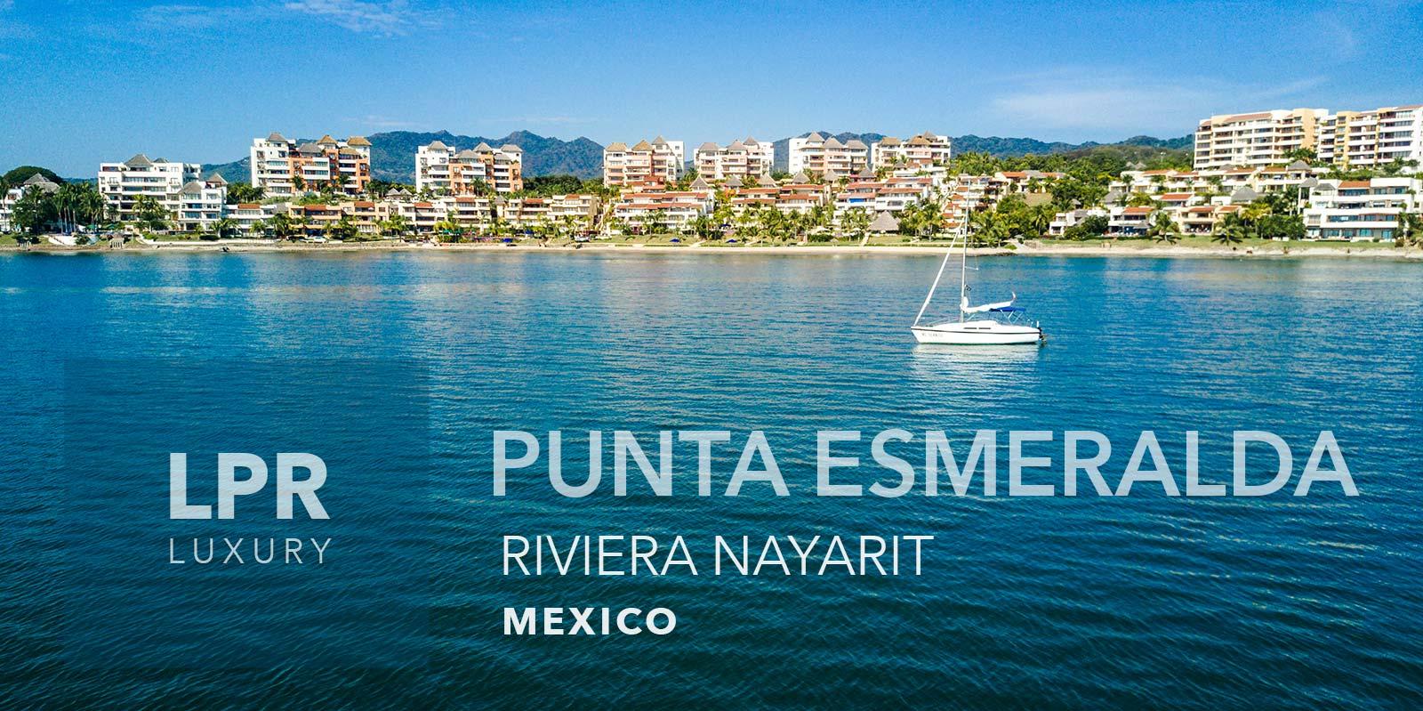 Punta Esmeralda - Punta de Mita Luxury beachfront vacation rental villas for sale in La Cruz de Huanacaxtle, Punta de Mita, Riviera Nayarit, North shore Puerto Vallarta, Mexico