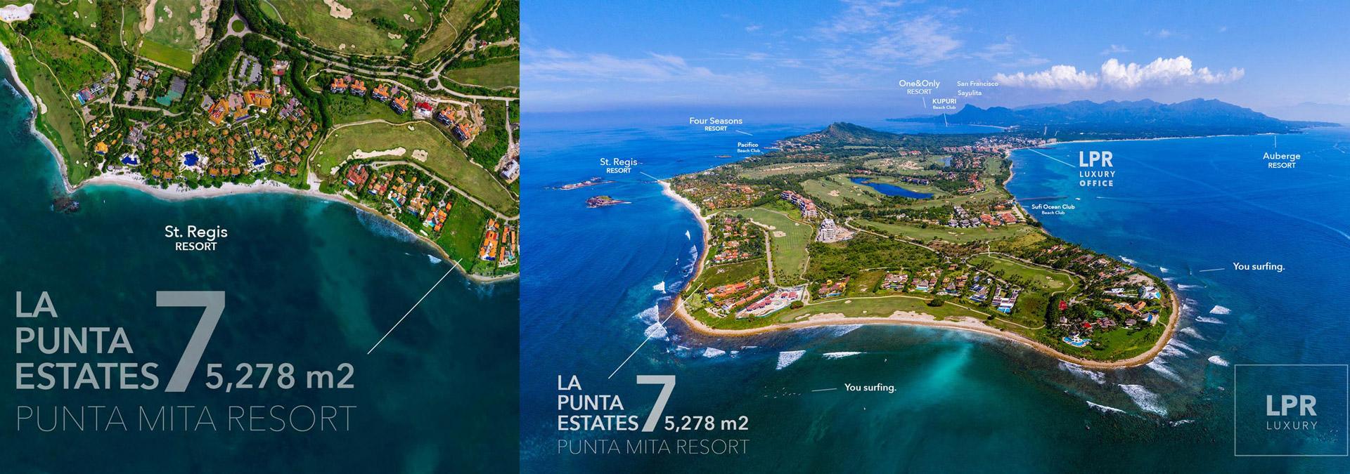 La Punta Estates - Lot 7 at the Punta Mita Resort - Puerto Vallarta Mexico
