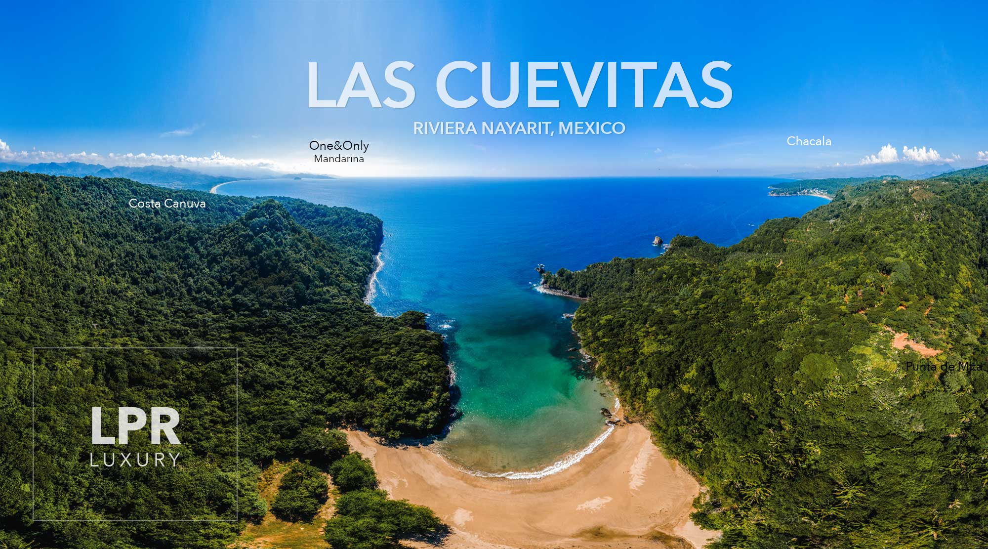 Las Cuevitas - Riviera Nayarit, Mexico beachfront Development land for sale in Puerto Vallarta, Punta de Mita - tierras, parceles, hotel sites for sale