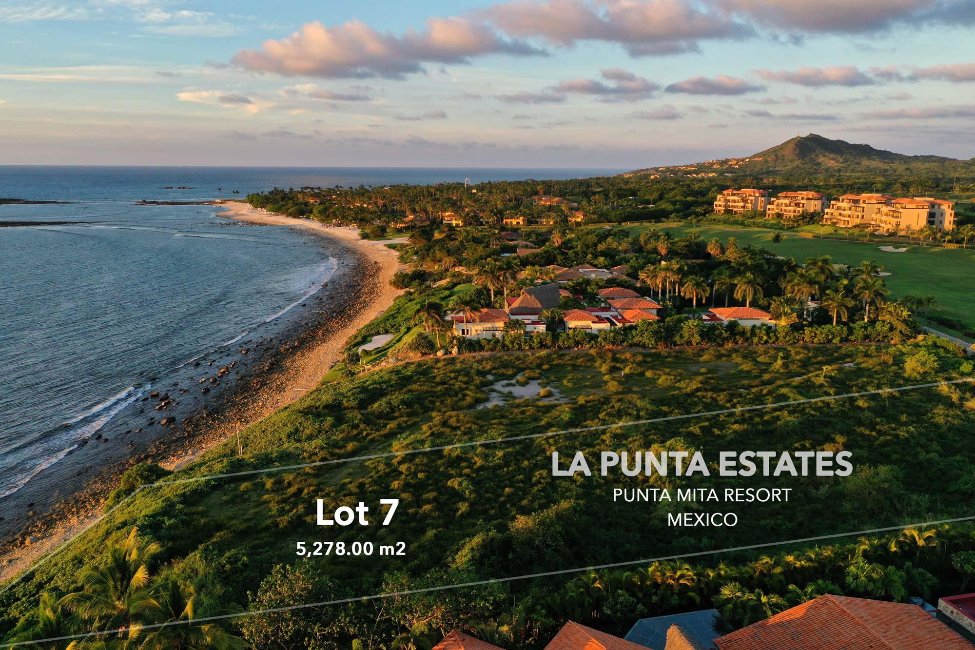 La Punta Estates – Lot 7 Punta Mita Resort, Riviera Nayarit