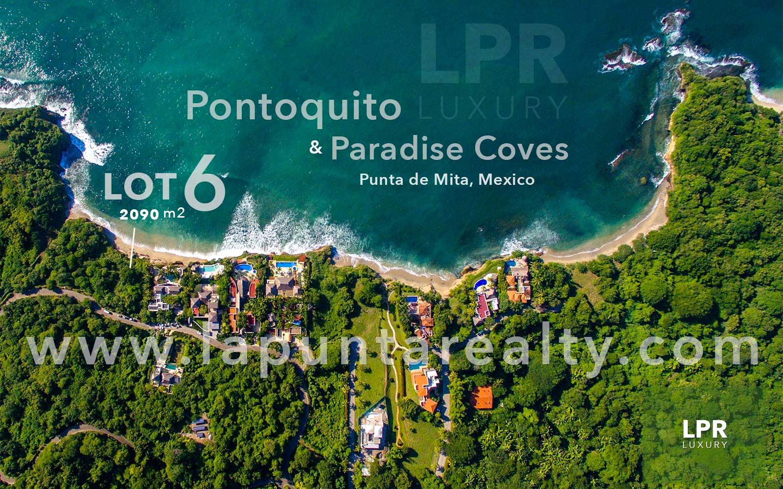 Pontoquito – Lot 6 Punta de Mita, Riviera Nayarit - Luxury Puerto Vallarta real estate