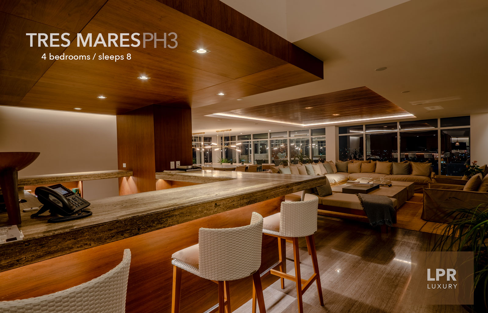 The Queen Penthouse at Tres Mares - Ultra Luxury Real estate in Marina Vallarta, Puerto Vallarta, Jalisco, Mexico