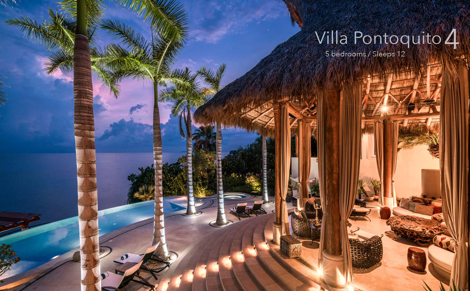 Villa Pontoquito 4 - Luxury Vacation Rental Villas along the North Shore of Puerto Vallarta, Mexico