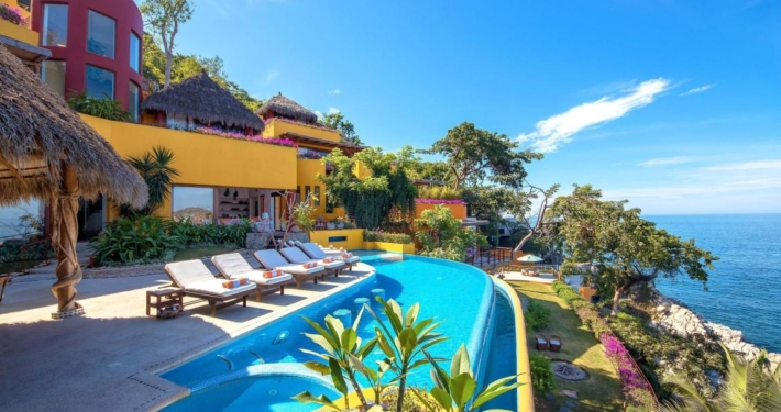 Villa Mismaloya 3 - South shore Puerto Vallarta vacation rental villa for sale