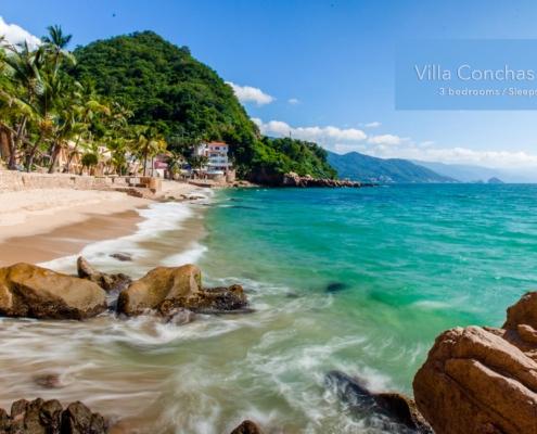 Villa Conchas Chinas 16 - Luxury Puerto Vallarta beachfront vacation rental villa