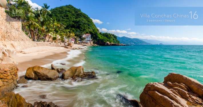 Villa Conchas Chinas 16 - Luxury Puerto Vallarta beachfront vacation rental villa